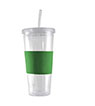 "BLK-ICO-785 - 24 oz. ""Severe Clear"" Acrylic Tumbler"