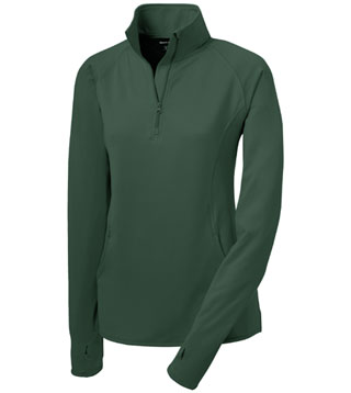 Ladies' Sport-Wick Stretch 1/2-Zip Pullover
