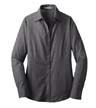 L640A - Ladies' Cross Hatch  Button Down